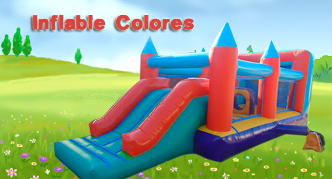 Juego inflable colores